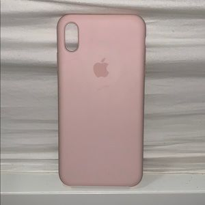 silicon apple case for XS max